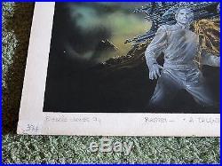 EDDIE JONES A talent for the invisible original sci-fi cover artwork BASTE
