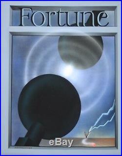 ERNEST KAYE/KRUNGLIVCUS- Original Signed Gouache-Fortune Magazine Cover