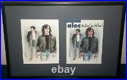 Eddie Campbell Original Cover Art Painting Alec King Canute (from Hell Artist)