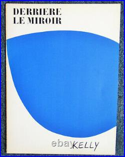 Ellsworth Kelly Derriere Le Miroir (front Cover) Original Lithograph 1958