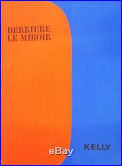 Ellsworth Kelly Derriere Le Miroir (front Covers) Original Lithographs