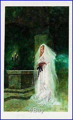 Enrich Torres 1972 Lord Satan Paperback cover Original Oil Painting