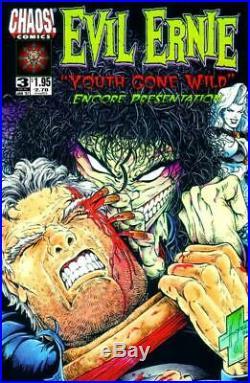 Evil Ernie Youth Gone Wild #3 Chaos 1996 (Original Art) Cover Steven Hughes