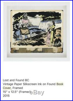 FAILE Lost And Found Book Cover Original Shepard Fairey James Jean Banksy Kaws