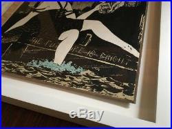 Faile NY artwork Signed Original On Book Cover The Future Is Bright 1/1