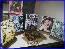 Faile Prints + Originals Hand-painted Cover Artist Edition Signed Obey