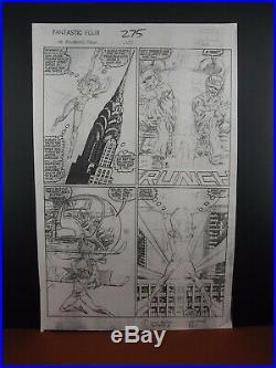 Fantastic Four #275, Page #6 Original Production Art Pencil Stat John Byrne