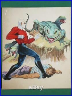 Fantomas #626 Masked Super-hero Monster Original Mexican Comic Cover Art