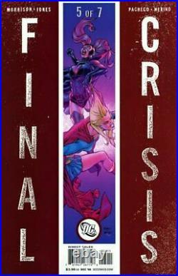 Final Crisis 5 Original COVER ART by CARLOS PACHECO & JESÚS MERINO DC Comics