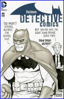 Frank Cho Batman Original Art Sketch Cover Detective Comics 44 CGC SS 9.8