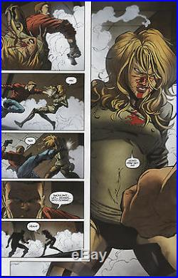 G. I. Joe #2 pg 18 COVER GIRL 1/2 SPLASH ORIGINAL Pencil Art Kurth