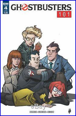 Ghostbusters 101 #4 Original Art IDW Peter Venkman, Breakfast Club parody Janine