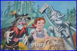 Gray Morrow Original Art Wizard of Oz Painting Back Cover of Visionary Biography