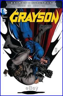 Grayson #18 DC 2016 (Original Art) Variant Cover Stephen Platt Superman/Batman