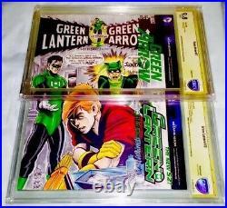Green Lantern #85 Cbcs 9.8 Ss 2x Original Art Neal Adams Homage Double Cover