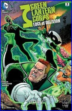 Green Lantern Edge of Oblivion #2 Ethan Van Sciver Original Cover Art Page