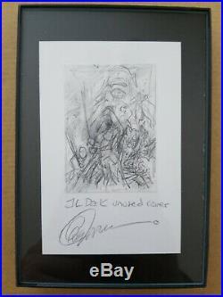 Greg Capullo Grab Bag Original Art Sketch Justice League Dark Cover Batman