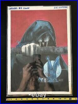 Grendel Original Cover Art PaintingBy J K Snyder IIIGod And The Devil #8