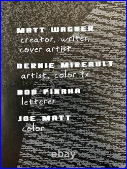 Grendel Original Cover Art PaintingBy Legend Matt WagnerDevil By Deed #3