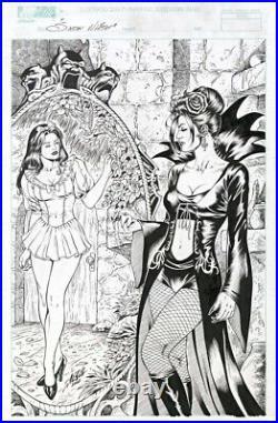Grimm Fairy Tales #7 (snow White) Original Cover Art By Al Rio