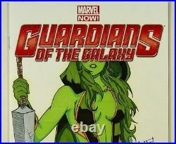 Guardians of the Galaxy #1 Sketch Cover Original Art By Andy Bohn Gamora Hot