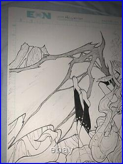 Hellwitch Hellbourne Original Art Cover Sorah Suhng