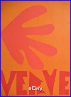 Henri Matisse Verve No. 4 Original Cover 1958 Free Ship Us
