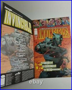 Invincible 111 sketch cover original artwork 1/1 by Kris Avery (Aquemini Arts)