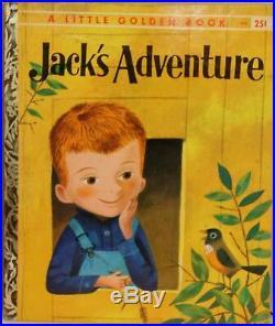 J. P. Miller Jack's Adventure LGB Original COVER Illustration Book Painting Art
