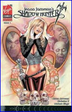 JENNA JAMESON'S SHADOW HUNTER #1 Cover Original Art by GREG LAND 2008