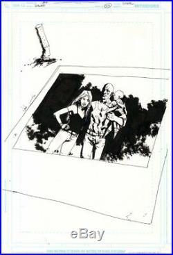 JOCK Scalped 42 Original Cover Art DC / Vertigo