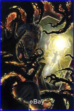 JOHN TOTLEBEN Hellblazer #77 ORIGINAL PAINTED COVER ART John Constantine