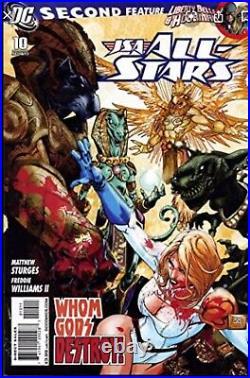 JSA All-Stars (2010) #10 Cover by Freddie E Williams II Power Girl Original Art