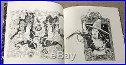 Jeremy Bastian Cursed Pirate Girl Sketchbook Original Art Cover de la mer OA