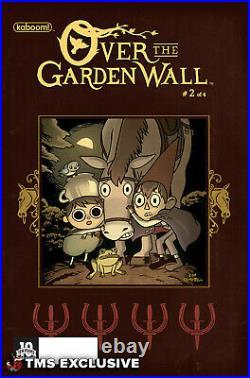 Jim Campbell Over the Garden Wall Original Cover Art (Framed) 2015