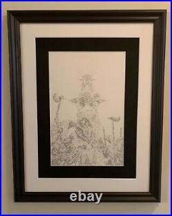 Jim Hensons Power Of The Dark Crystal #1original Published Cover Artjae Lee