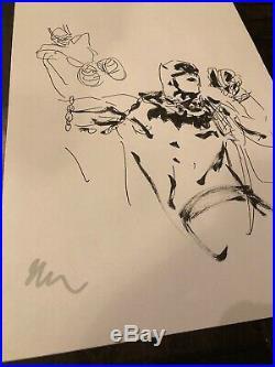Jock Batman Who Laughs #3 Original Art Cover Prelim Art Sketch