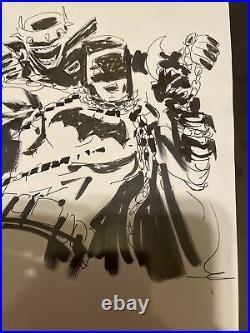 Jock Batman Who Laughs Original Art Prelim #3 Cover Art Sketch Fantastic