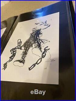 Jock Batman Who Laughs Original Art Prelim #5 Cover Art Sketch Fantastic