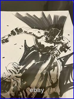 Jock Batman Who Laughs Original Art Prelim #6 Cover Art Sketch Fantastic