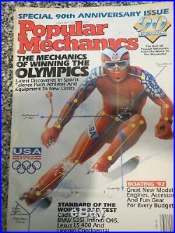 John Berkey Original Illustration Cover Popular Mechanics Feb. 1992