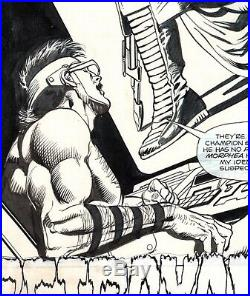 Jose Garcia Lopez Original Art- Atari Force #11, page 3