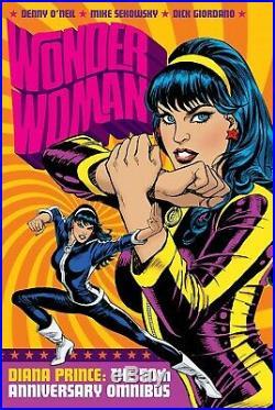 Jose Garcia-lopez Signed 2018 Wonder Woman Omnibus Cover Original Art