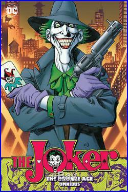 Jose Garcia-lopez Signed 2019 Joker Omnibus Cover Original Prelim Art