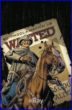 Jose Luis Garcia Lopez Signed Original Jonah Hex DC Omnibus Cover Art Prelim