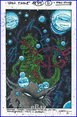 Kevin Eastman Full Color Published TMNT Original Cover Art IDW TMNT #59 VARIANT