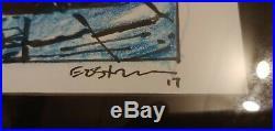 Kevin Eastman Original Art TMNT #73B Blue Pencil Rough Cover Art
