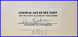 Kevin Eastman Original Cover Art (Unused) Eastman Private Collection TMNT
