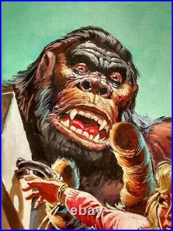 King Kong Original Art Cover (artist E. López ed. NOVARO) includes two comics