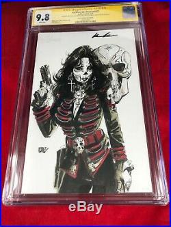 La MuertaDescent #1 ORIGINAL ART COVER By Joel Gomez Signed CGC 9.8